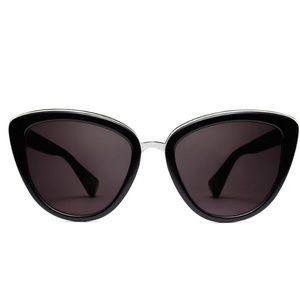 MVMT Marquee Black Cat Eye Sunglasses